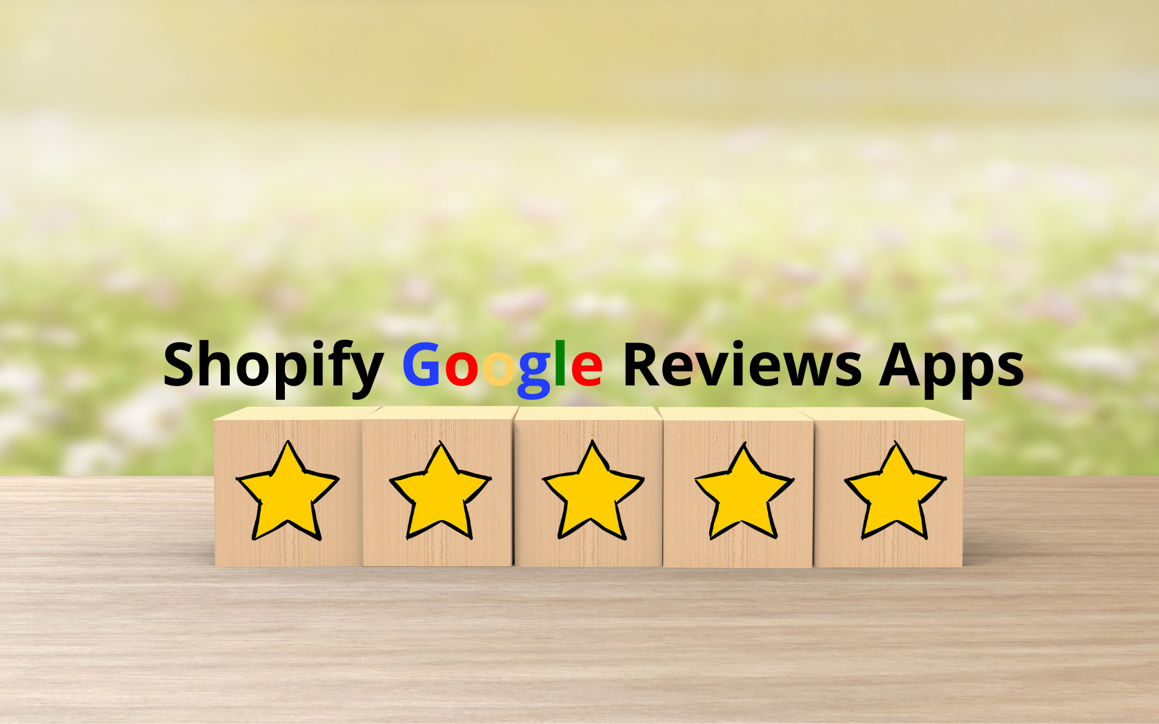 Shopify Google Reviews Apps